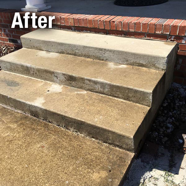 Richmond​ Concrete Steps Leveling - After