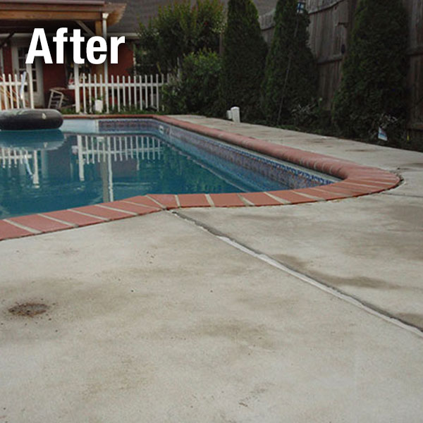 Richmond, Concrete Pool Deck Leveling - After