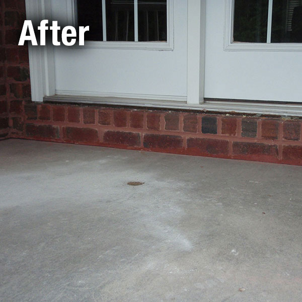 Richmond Concrete Porch Leveling - After