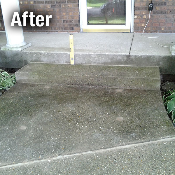 Richmond Concrete Step Repair - After