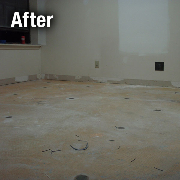 Richmond​ Concrete Floor Leveling - After