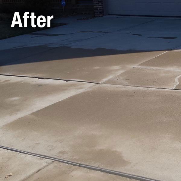 Richmond Concrete Driveway Leveling - After