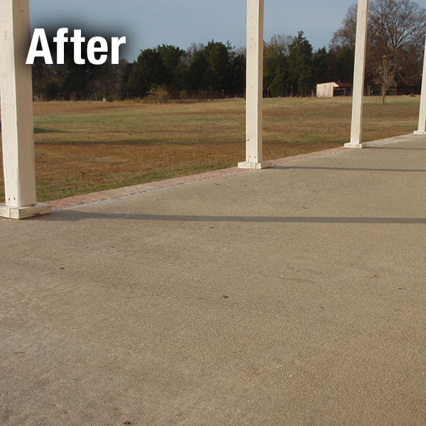 Richmond​ Concrete Patio Leveling - After